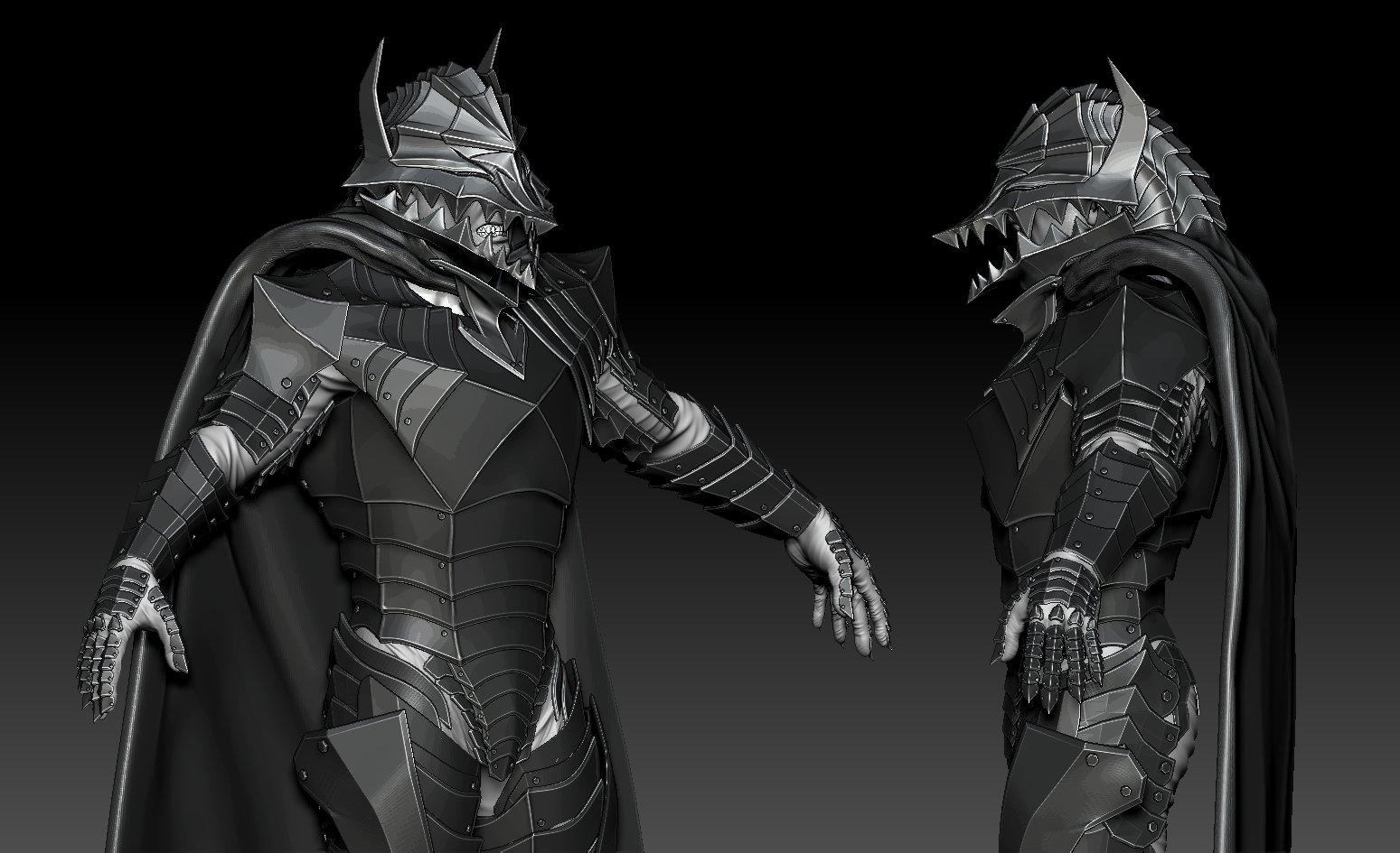 Anime: Berserk, Berserker Armor Fan Art