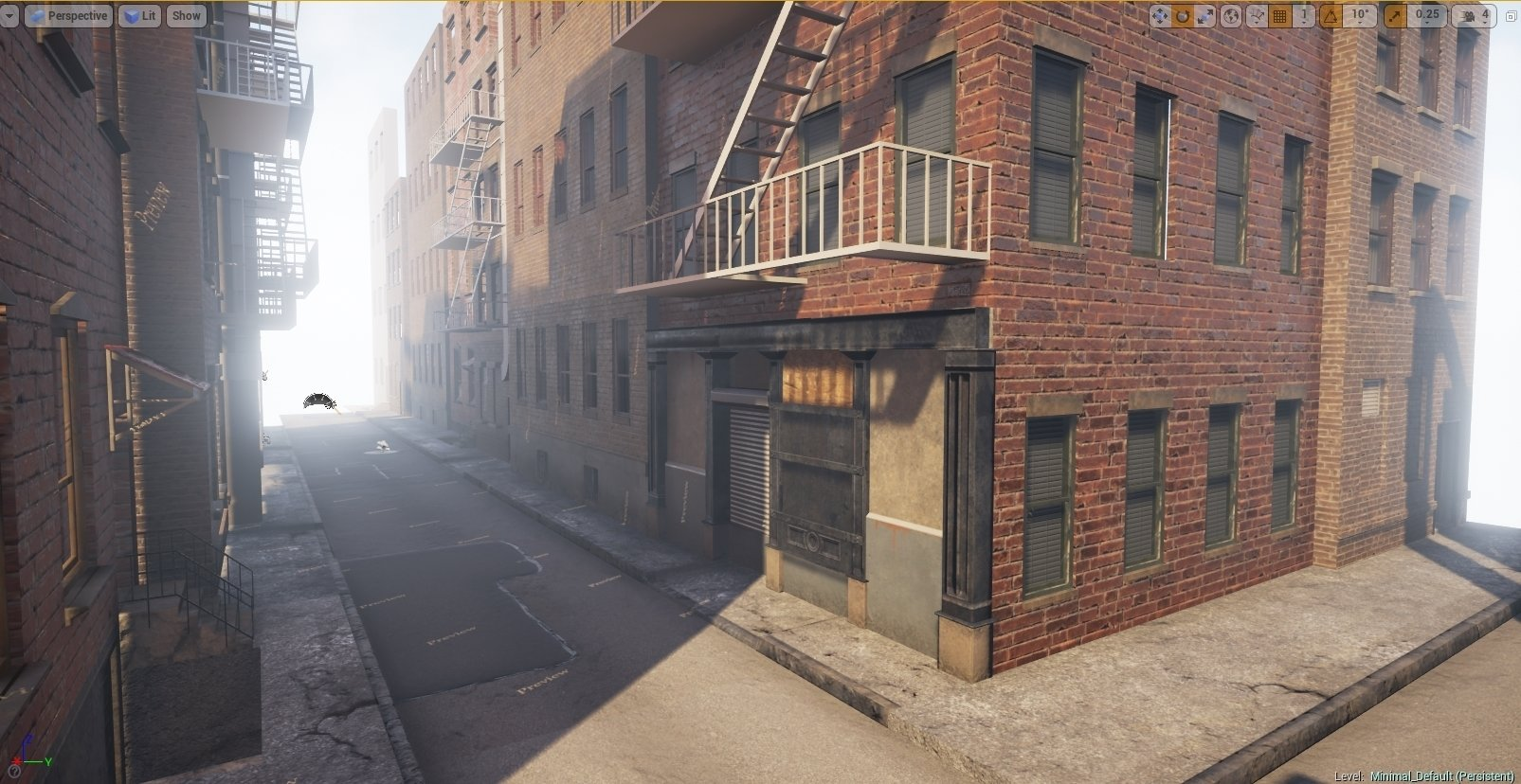 Ue4 New York City Alley Polycount