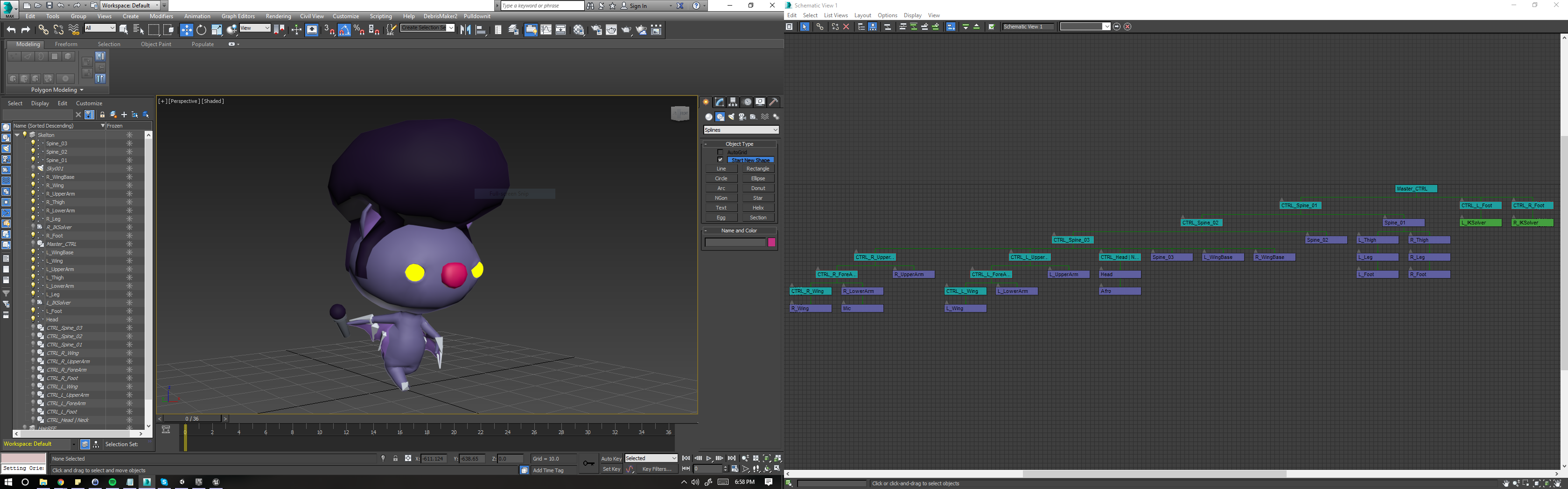 3DS Max Export | Animations to Unity & UE4 Errors   How do I