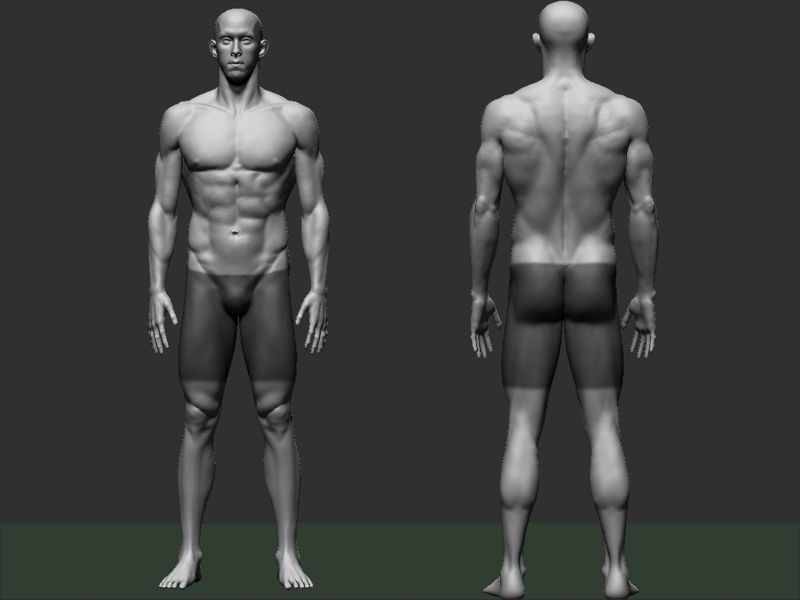Michael Phelps Full Body Likeness Polycount