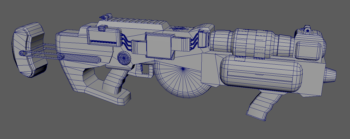 WIP] Fallout Inspired Nuka Cola Acid Gun Suggestions — polycount