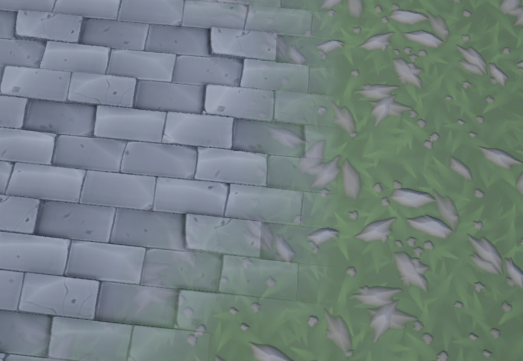Solved] Landscape Material layer blend with texture height