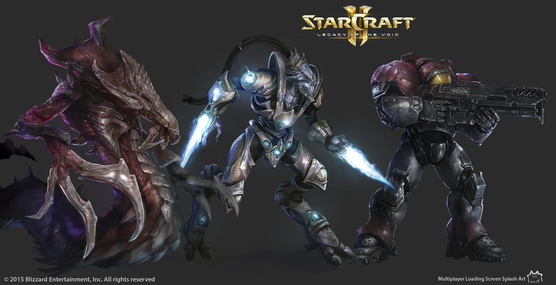 StarCraft 2 Legacy of the Void Art Dump! ? polycount