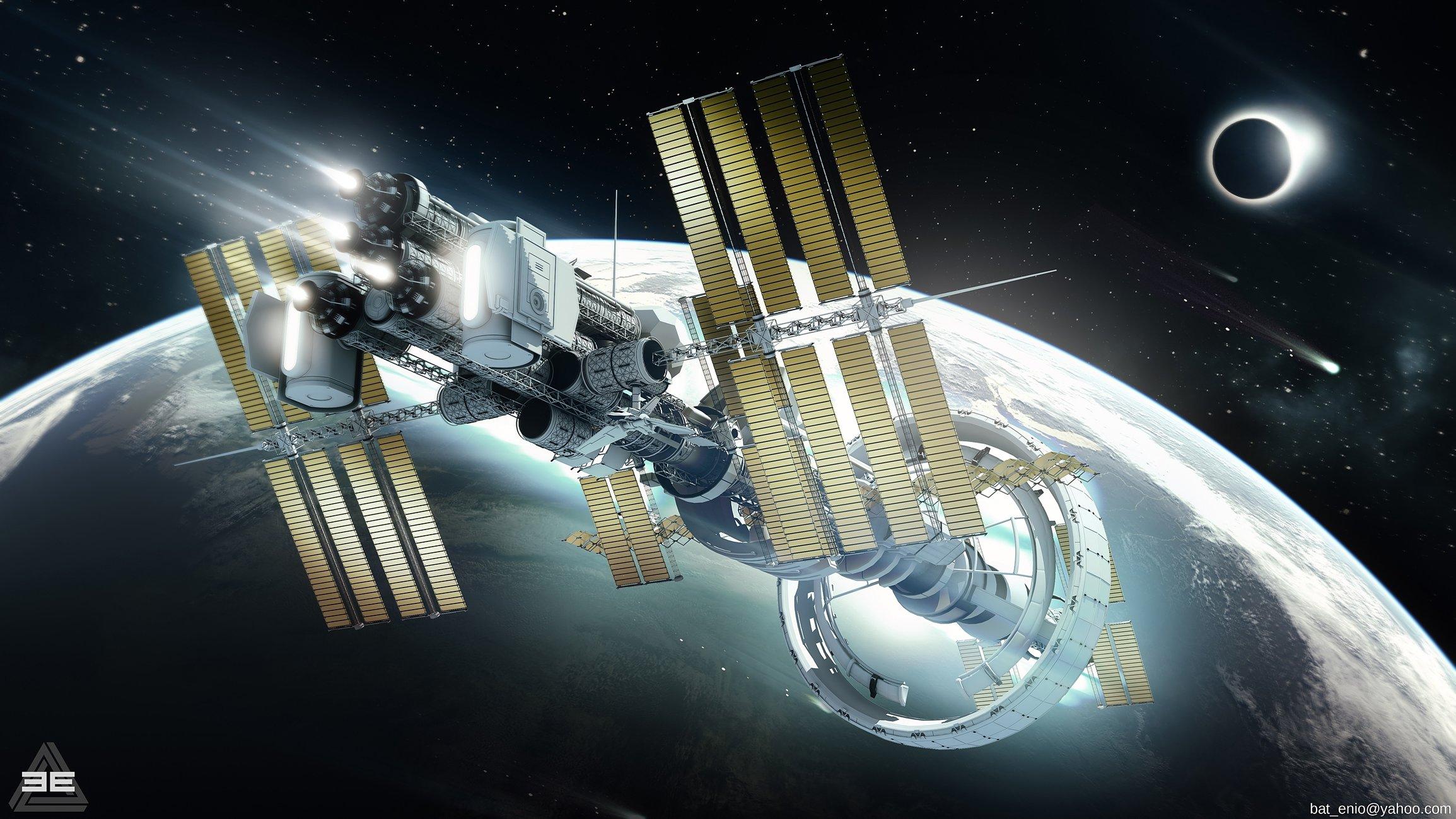 Conceptual spaceships of the future (photos) 10