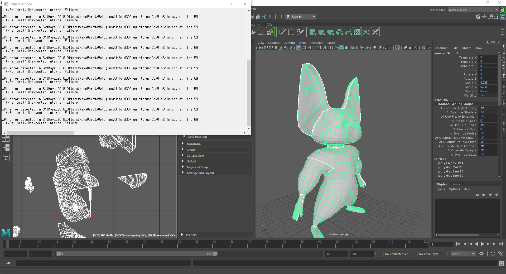Maya: mesh has unconneted vertices - It's driving me crazy