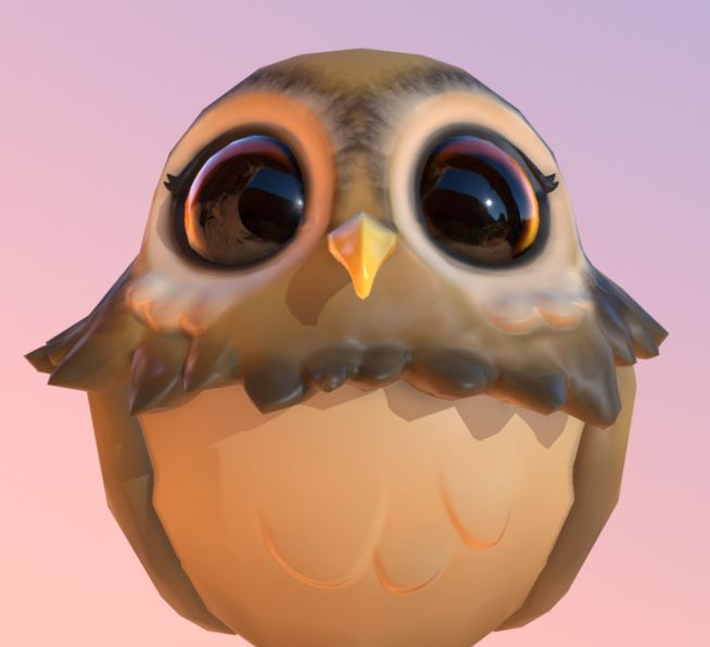 Frog (First Zbrush Expirience) — polycount