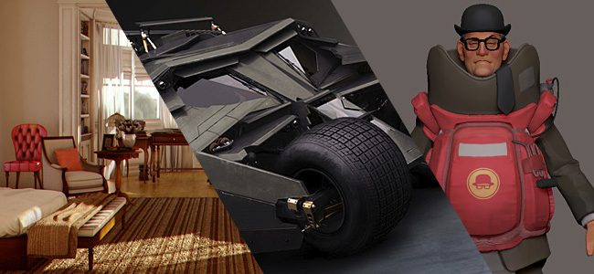 mental ray 3.8, Batman Tumbler, WAYWO thread
