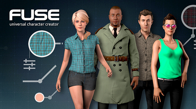 Fuse: Universal Character Creator by Mixamo — polycount
