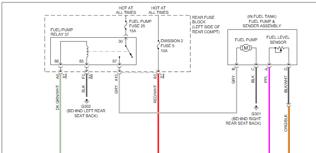 Pontiac G Wiring Diagram Parking Ke on