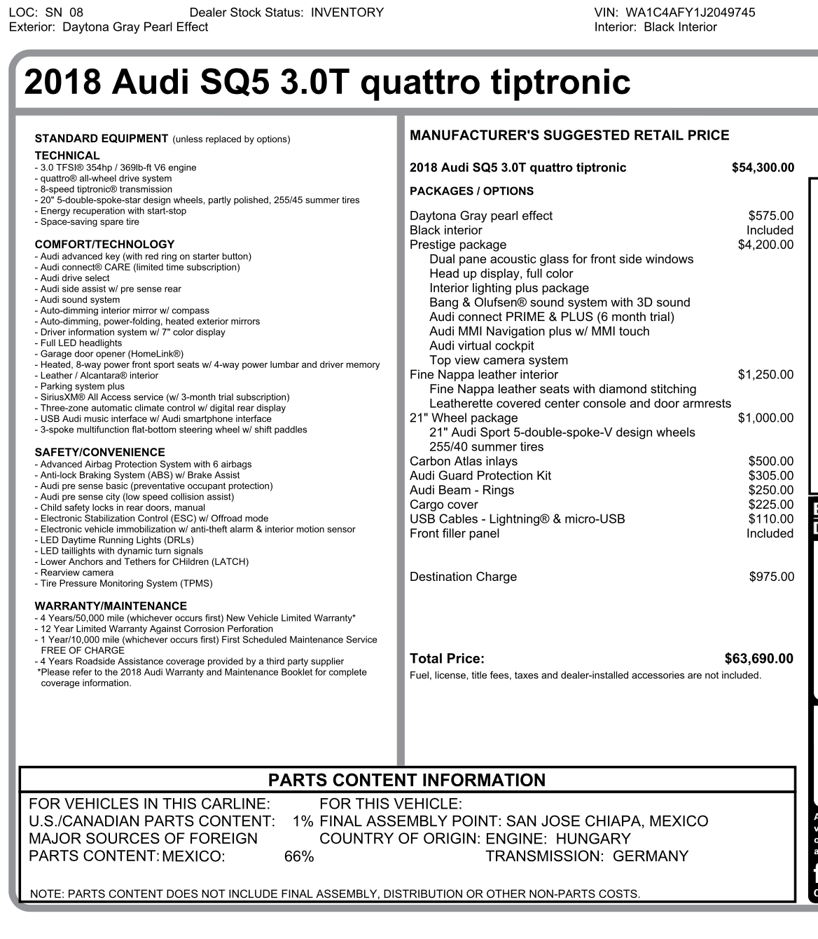 2018 Audi Q5 Lease Deals And Prices