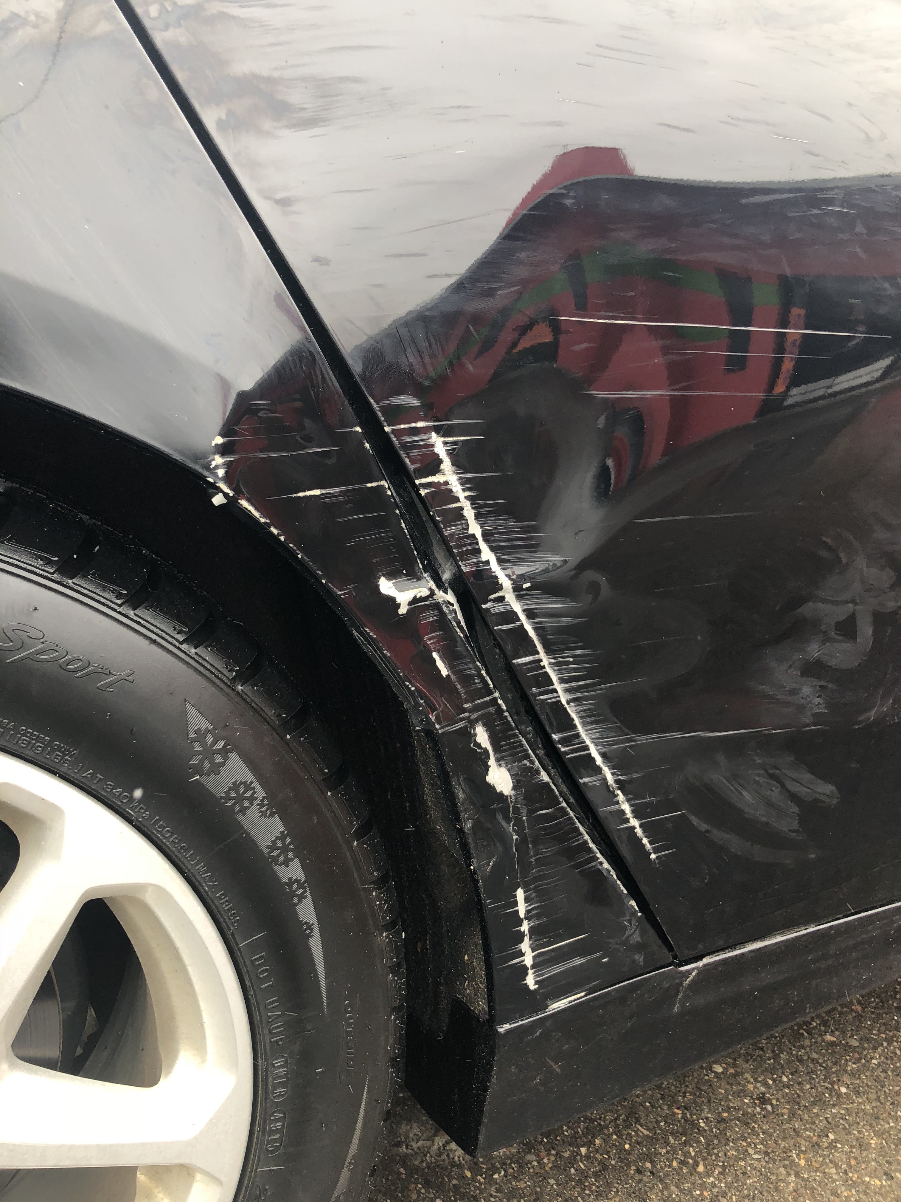 Damage to body and paint    cost? — Car Forums at Edmunds com