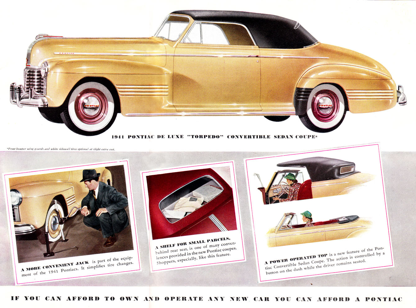 I Spotted An Insert Obscure Car Name Here Classic Today 1941 Pontiac Silver Streak Coupe For A Power Convertible Was Available And Scotch Mist Returned