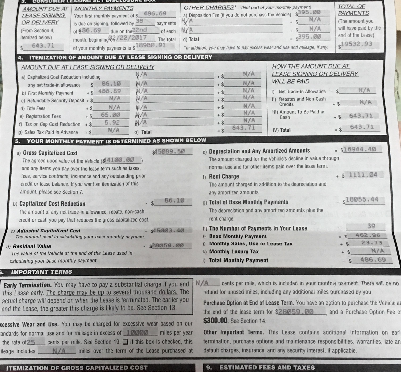 Infiniti lease deals edmunds