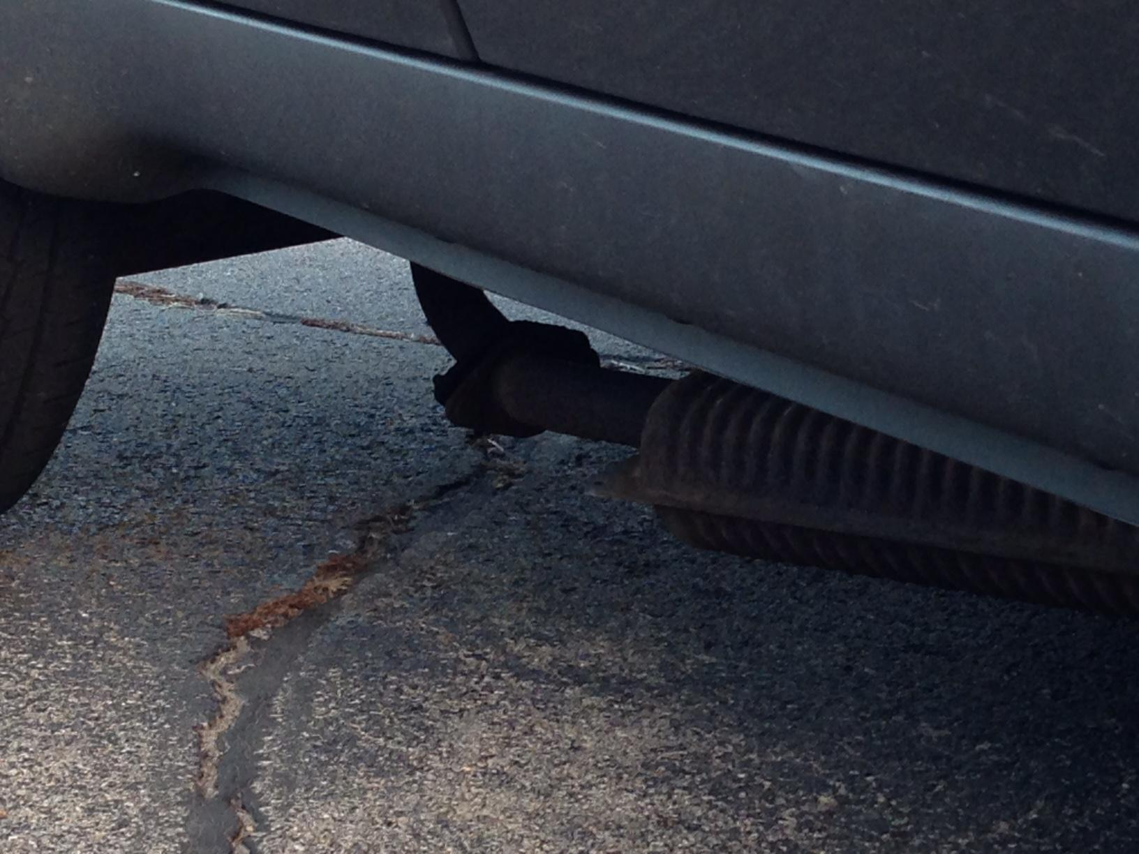 Catalytic Converter Shop Near Me >> Thing hanging down under car, what happened? — Car Forums ...