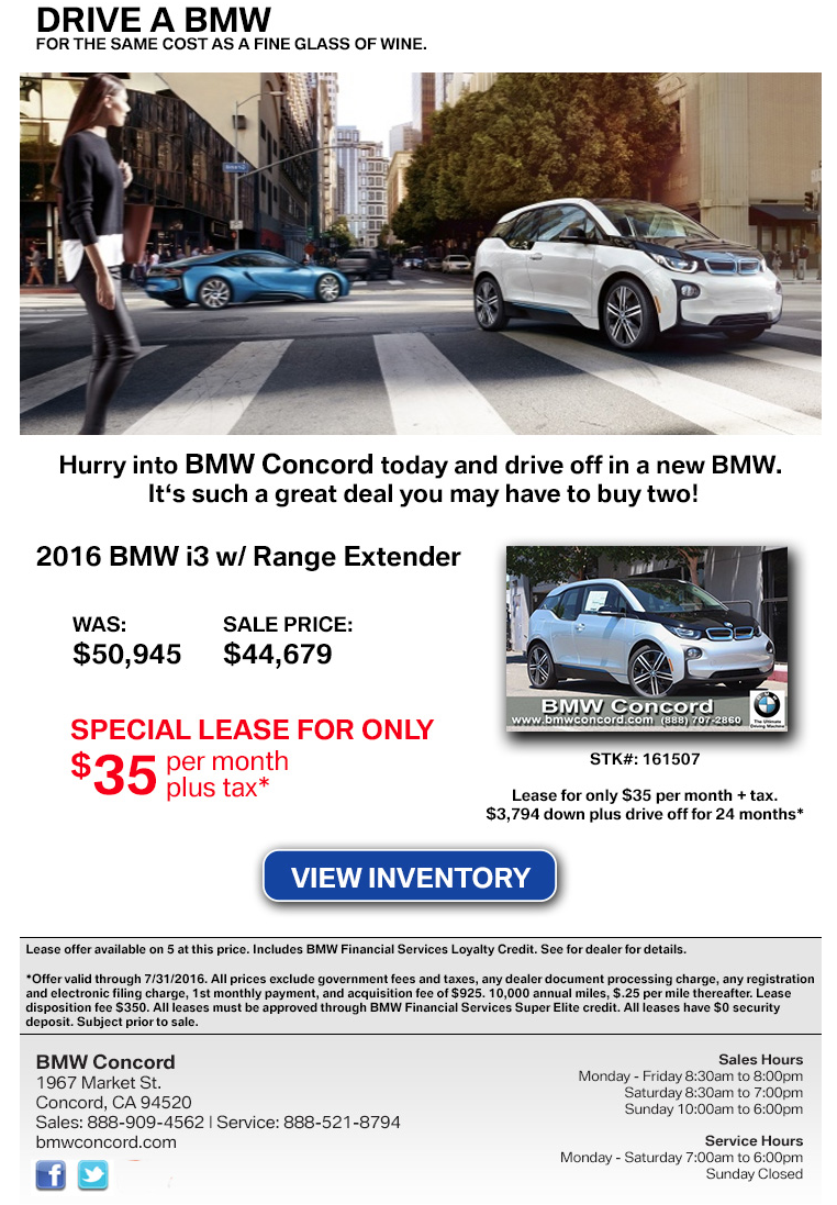 BMW Convertible lease or buy bmw 2016 BMW i3 Lease Questions - Page 2 — Car Forums at Edmunds.com