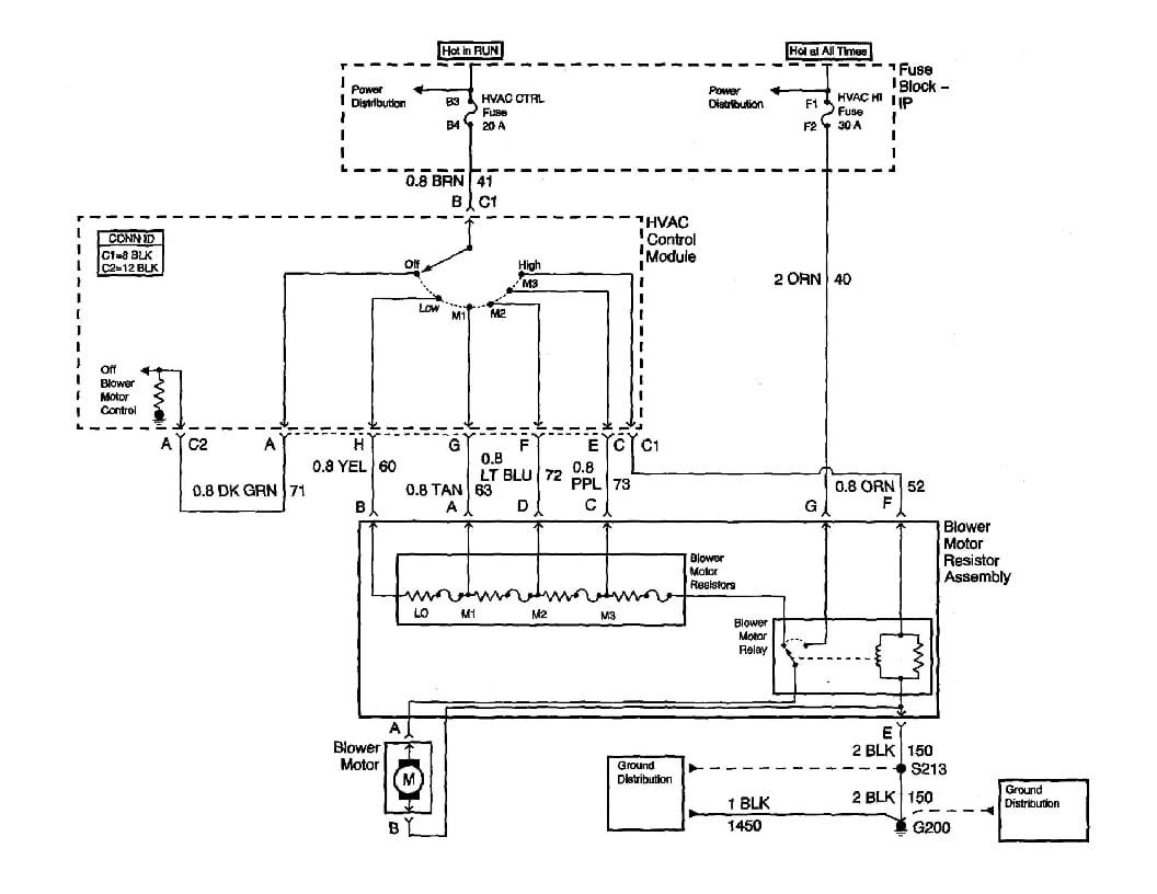 2004 Pontiac Grand Prix Blower Motor Wiring Diagram 2002 Pontiac Grand