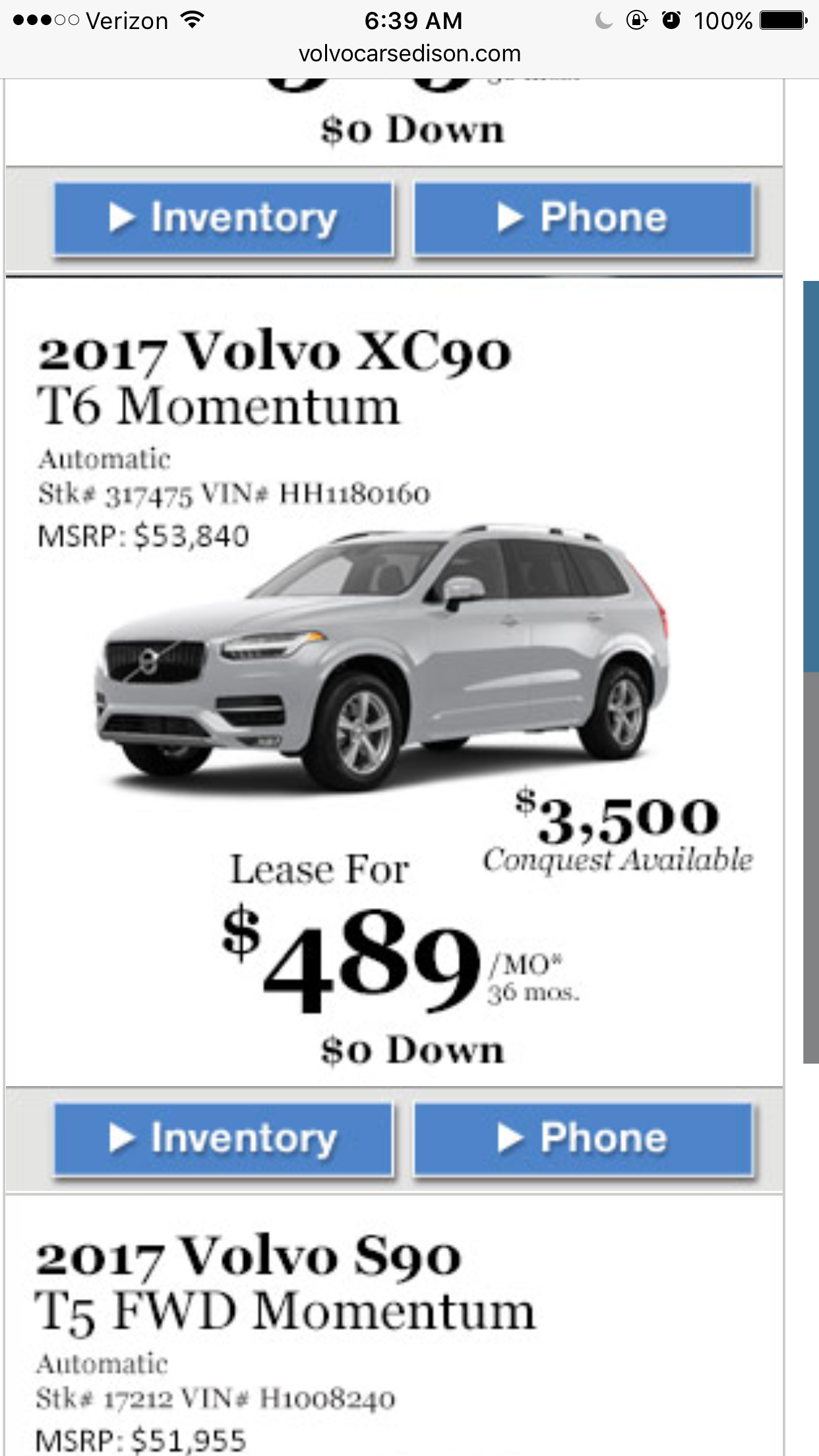 2017 volvo xc90 lease deals and prices page 27 car forums at. Black Bedroom Furniture Sets. Home Design Ideas