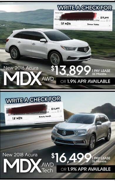 Acura MDX Lease Deals And Prices Page Car Forums At - Lease an acura
