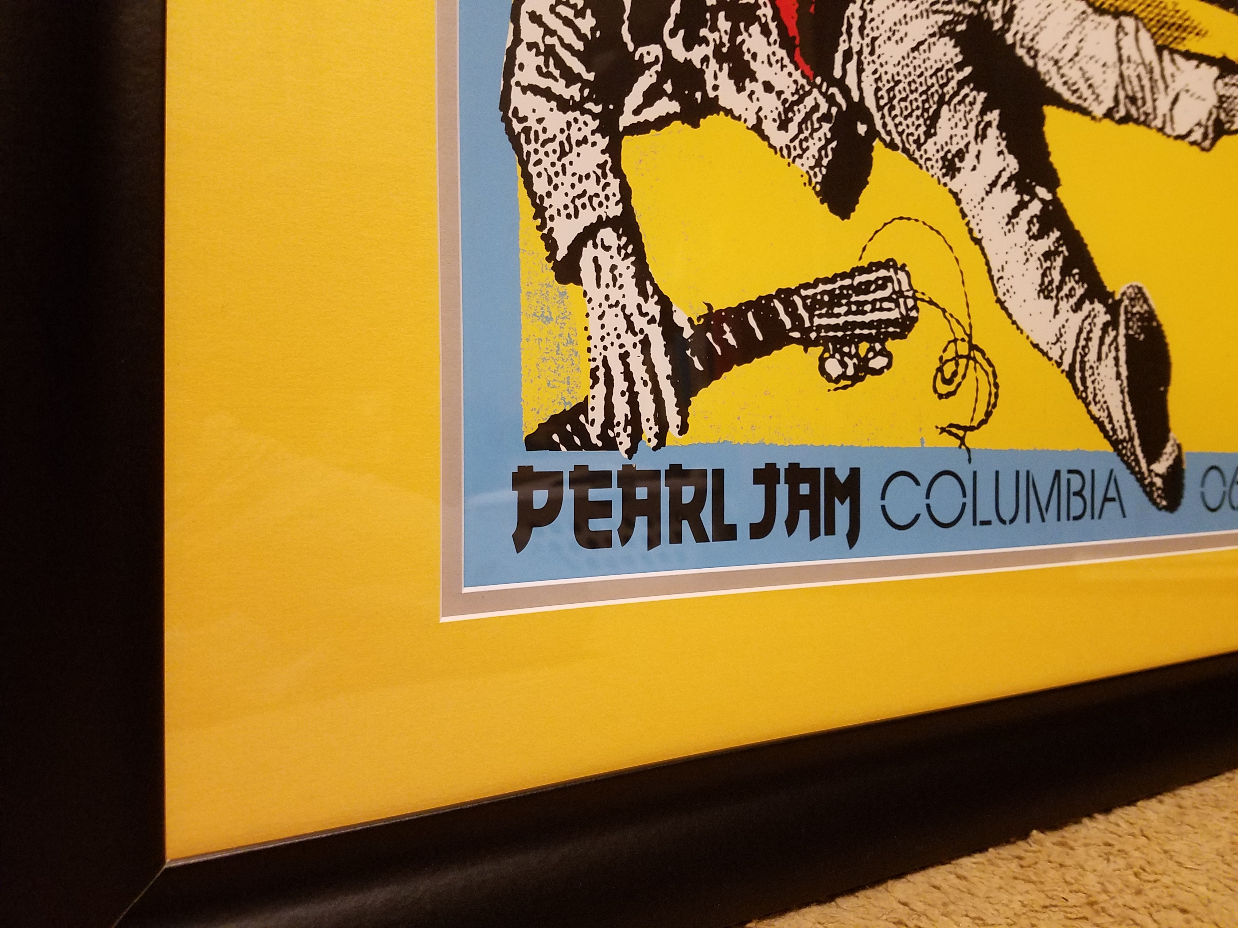 How to frame a poster good? — Pearl Jam Community