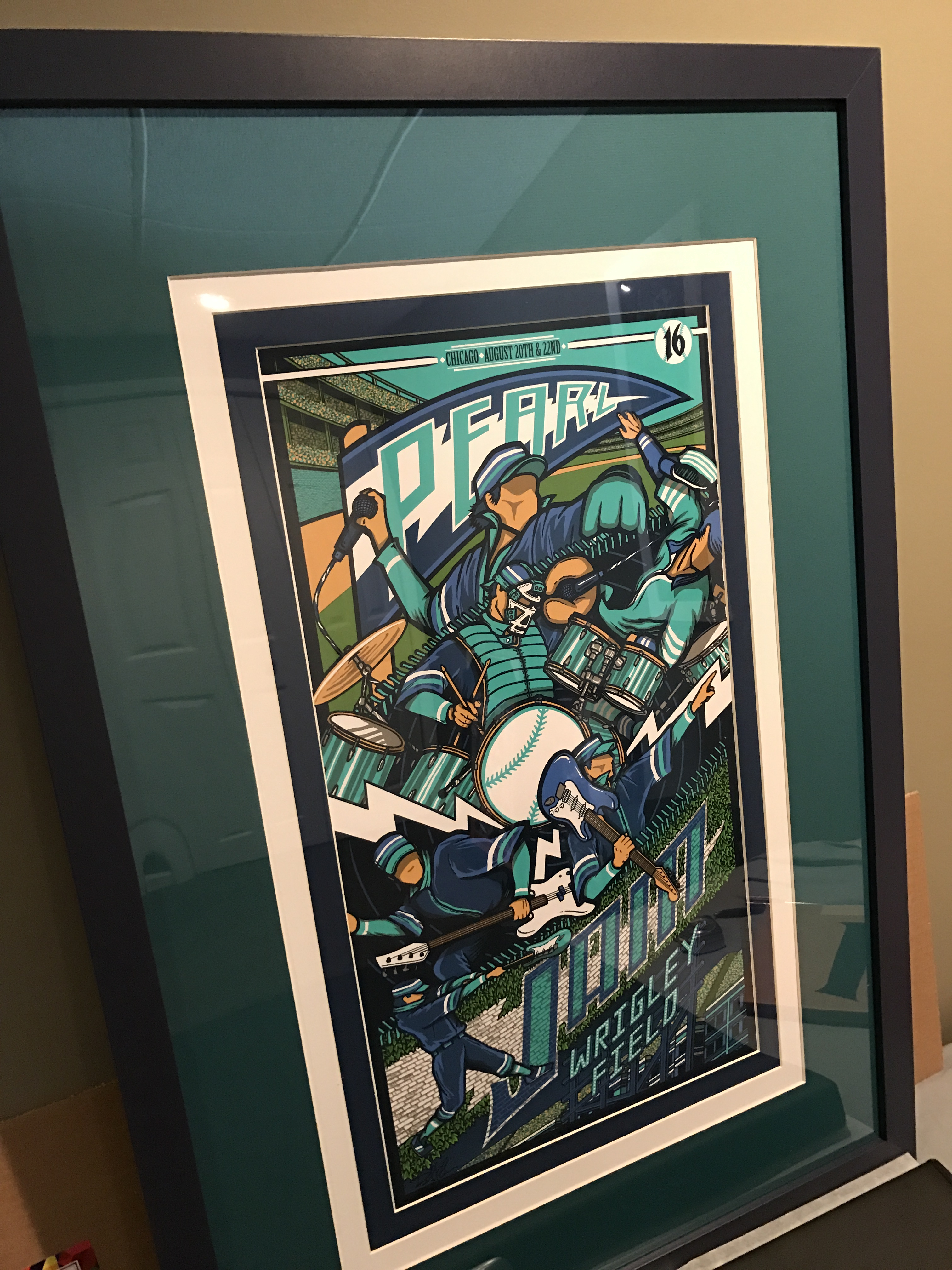 Framed Poster Thread Page 326 Pearl Jam Community