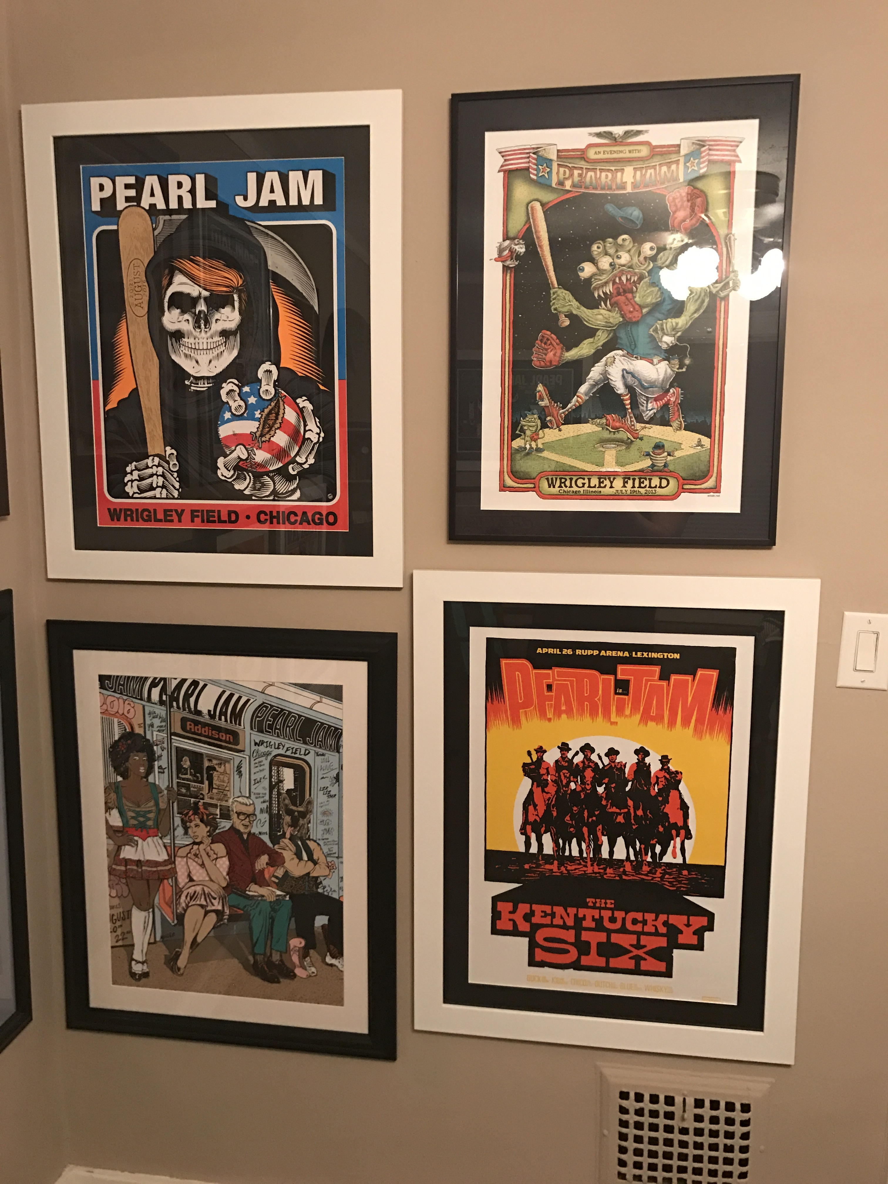 Framed Poster Thread Page 309 Pearl Jam Community