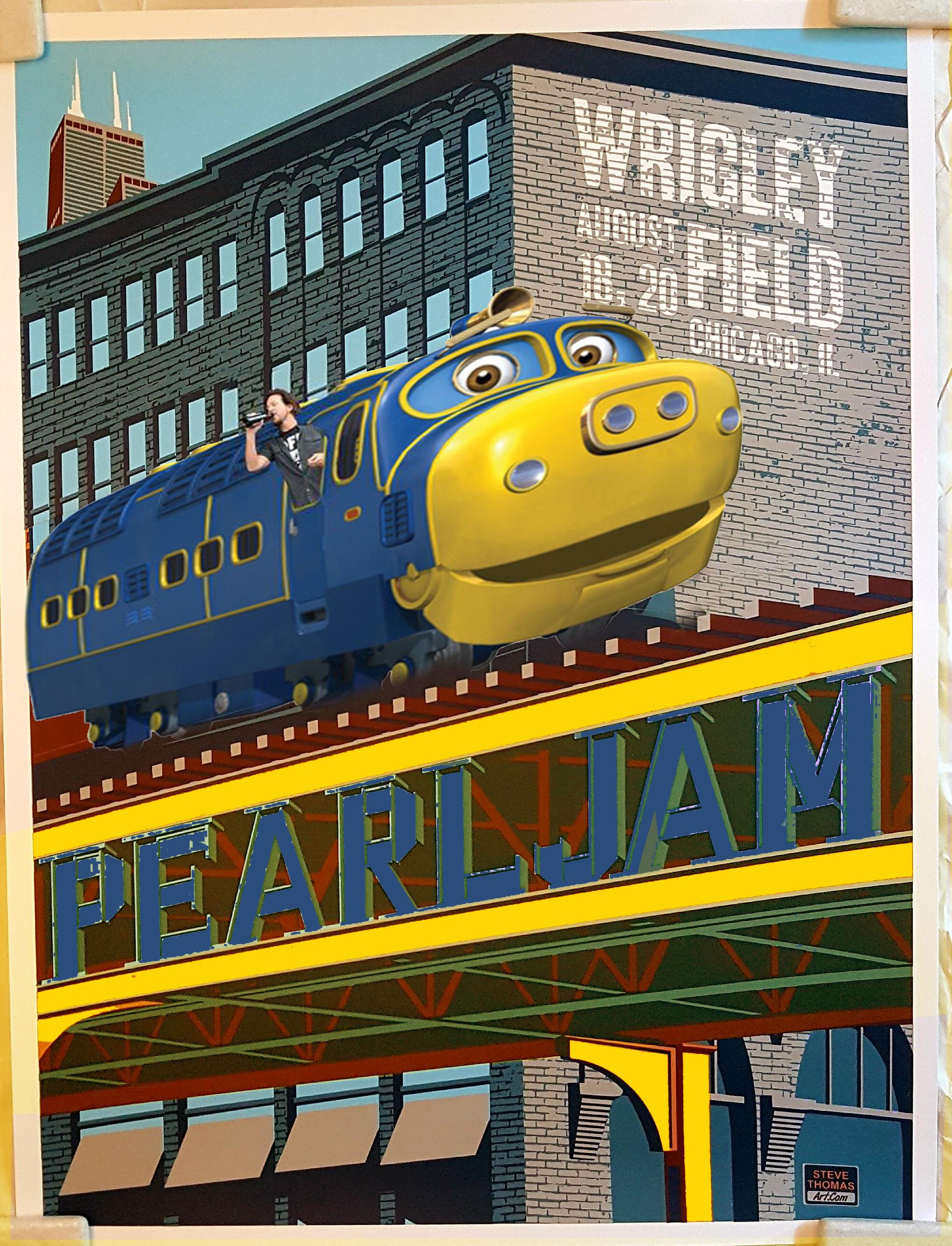 UPDATE: Thomas The Anim-EL Train Poster **Steve Thomas just sent me ...