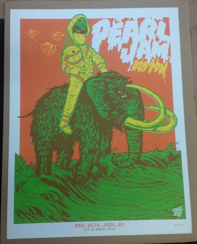 Pearl Jam Mansfield Massachusetts - July 11th 2003