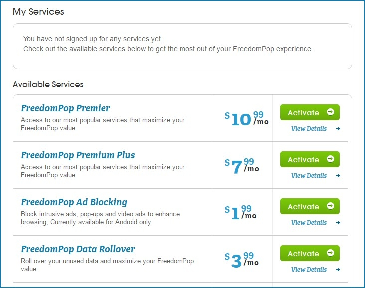 I have been charged 799 please issue the refund freedompop my phone number ends with 90002 i have been changed 799 for freedompop premium plus but i am not subscribed to this service ccuart Gallery