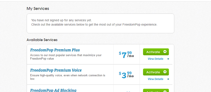 discussion step instructions downgrading your freedompop account free
