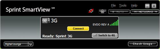 Sprint 3G full signal