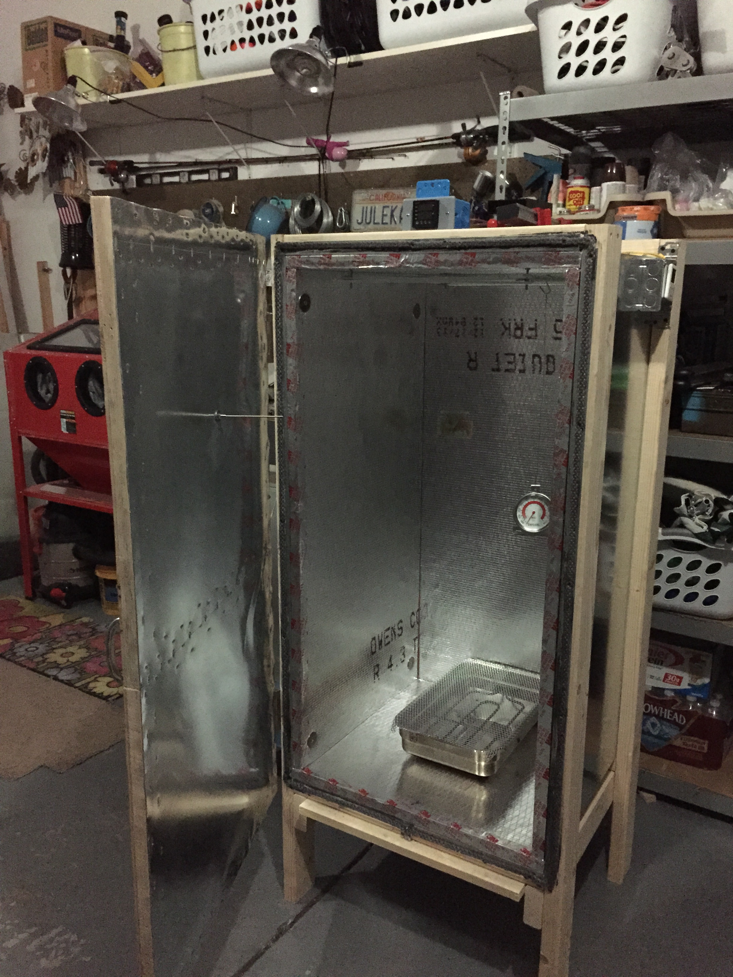 Diy curing oven diy do it your self for Paint curing oven