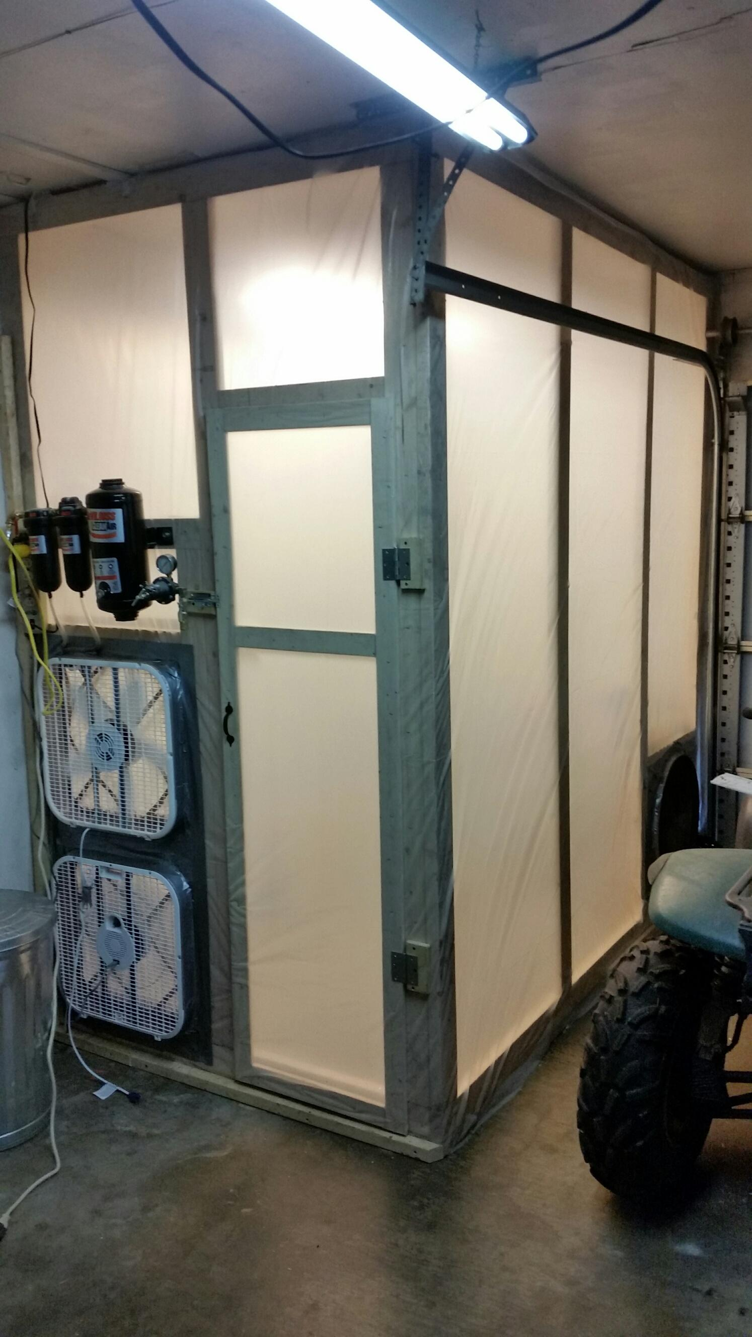 DIY Garage Size Paint Booth K2Forumscom