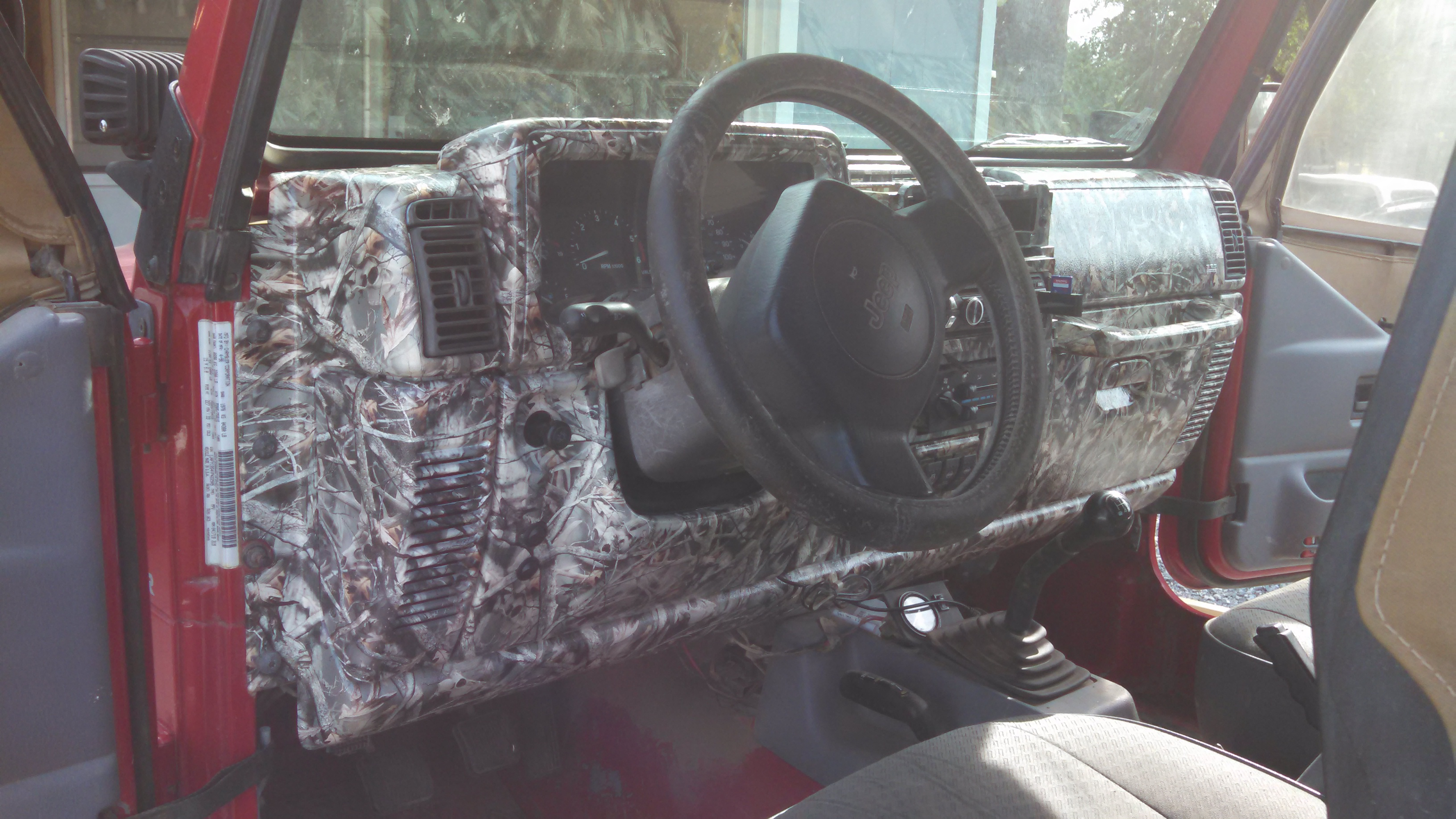 Jeep Wrangler Dash Reapor Buck Camo K2forums Com