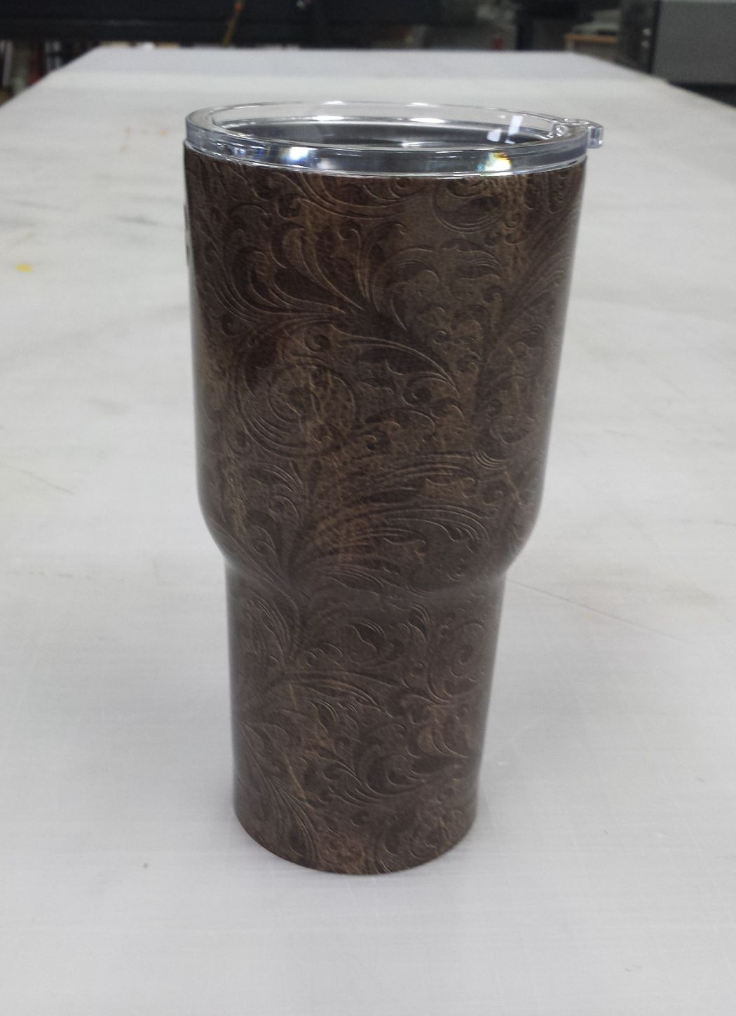 N Cup Tooled Leather YETI Cu...