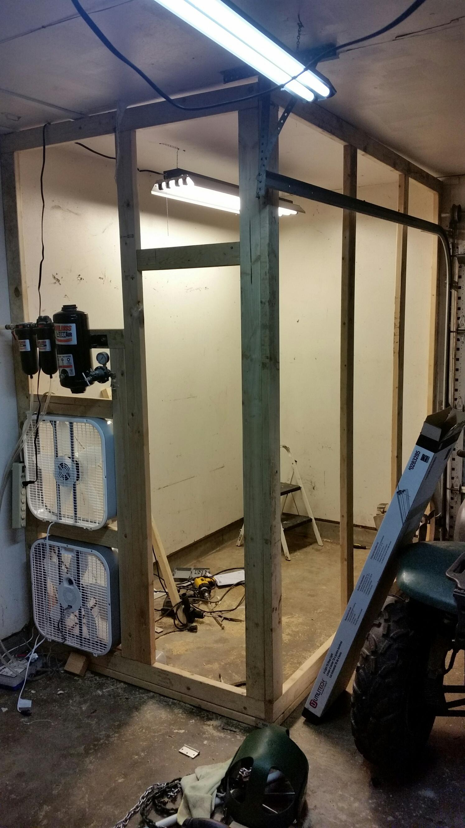 Diy Garage Size Paint Booth K2forums Com