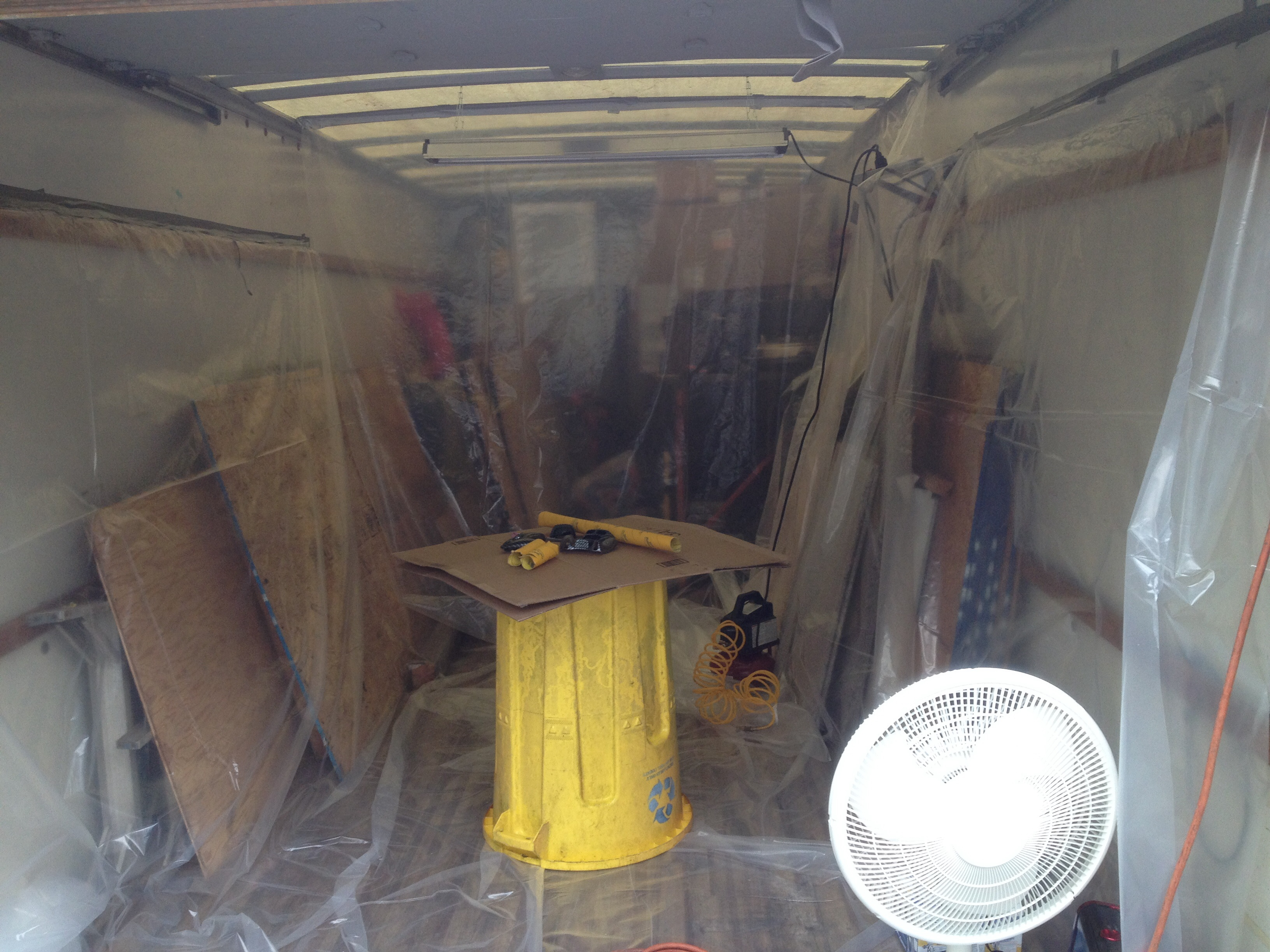 My homemade paint booth. — K2Forums.com