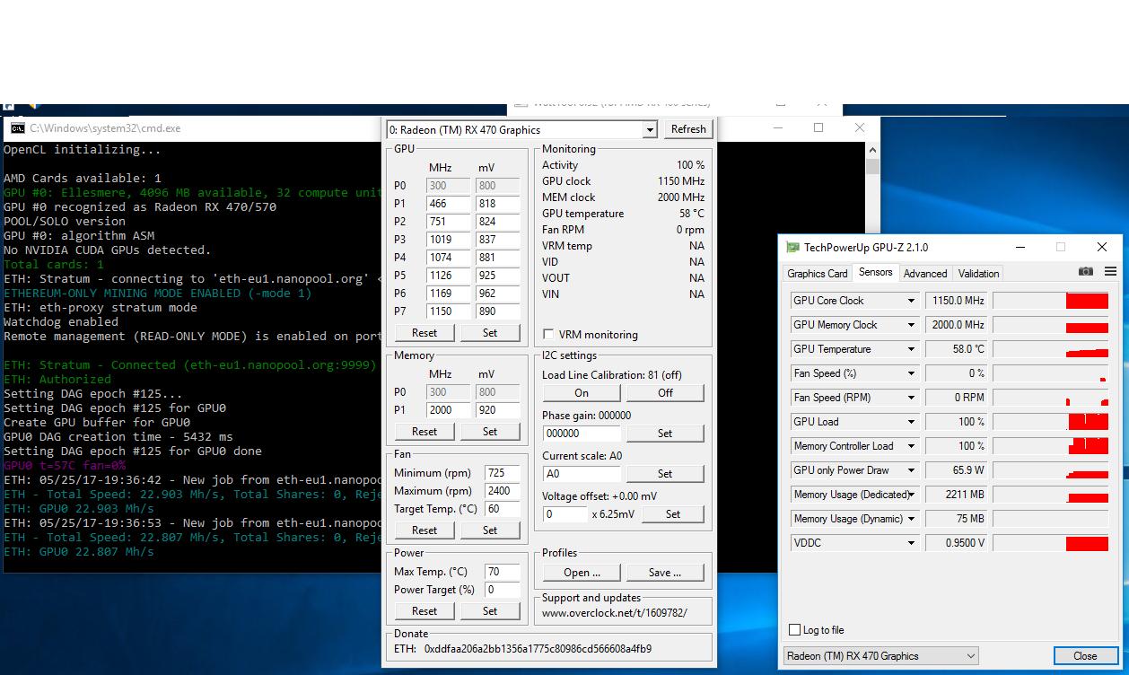 MSI Radeon™ RX 470 GAMING X, 4GB, 28+MHS bios mod - Page 5