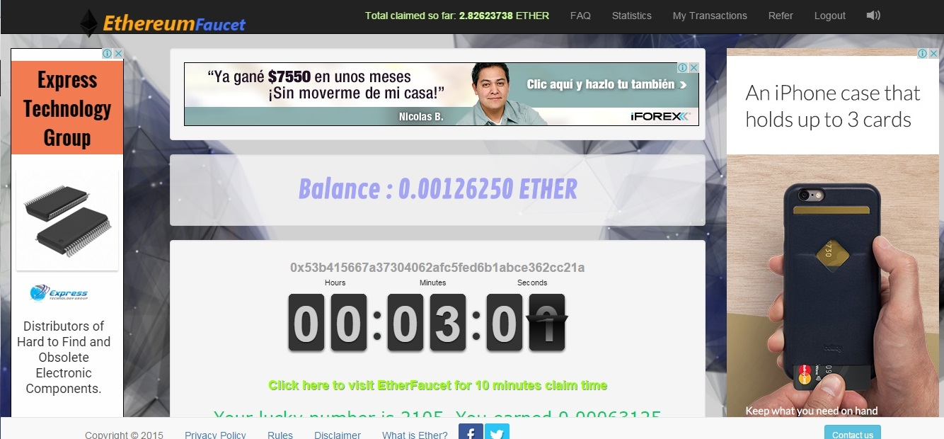 Get bitcoins from Double Bitcoins Rotator