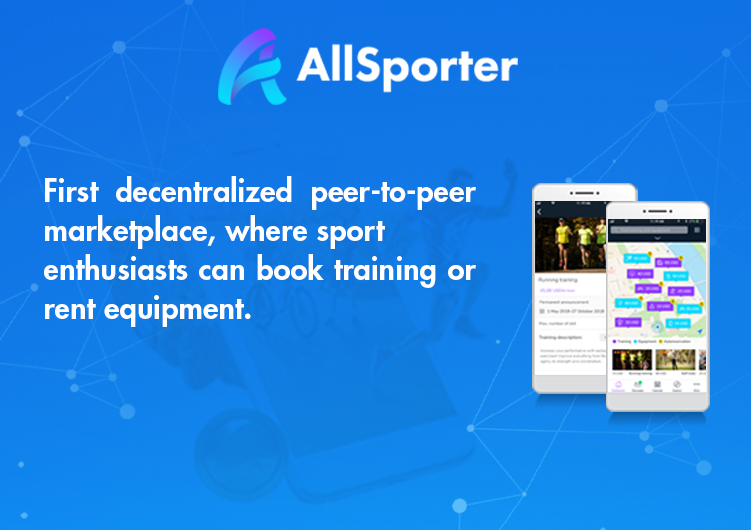 ICO] AllSporter first decentralized P2P sports marketplace