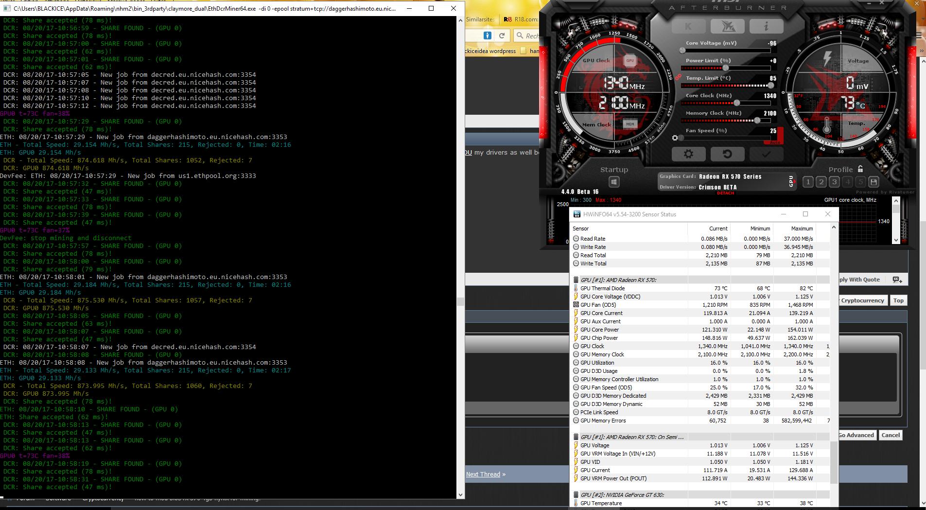 how to mod bios rx 570 4gb hynix? — Ethereum Community Forum