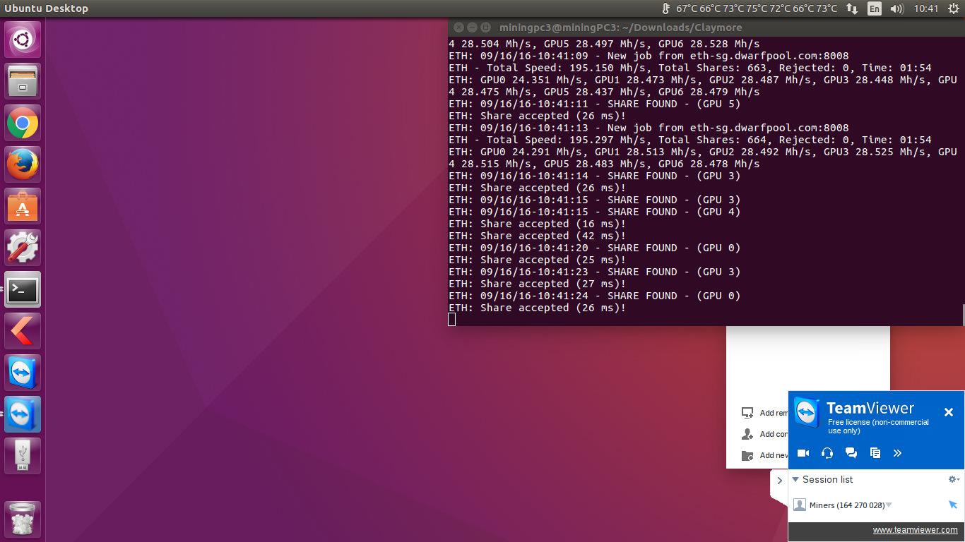 Mining ethereum ubuntu 16.04