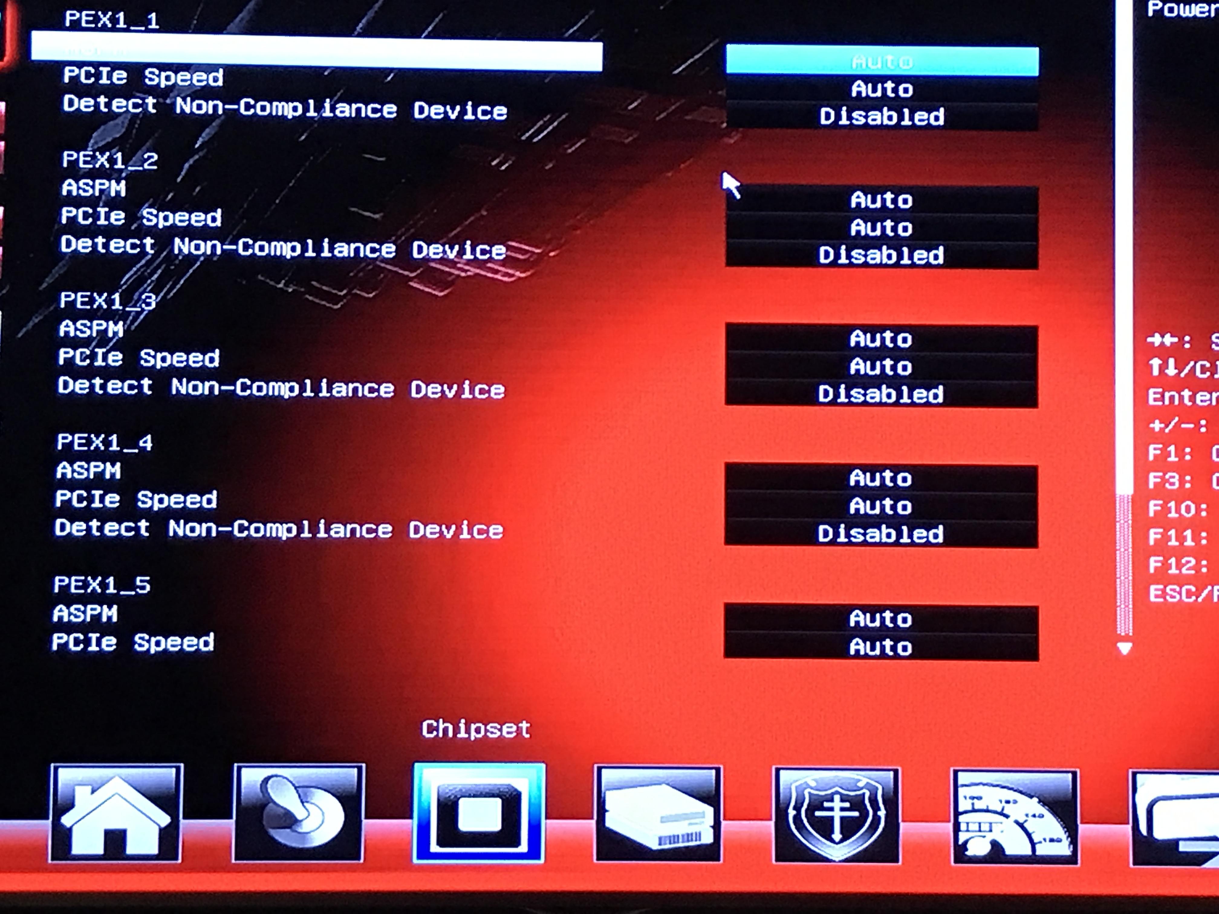 Biostar TB85 board, need BIOS help, no GPU's showing
