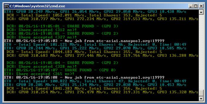 Xfx Radeon Rx 470 Rs 4 Go Mining Ethereum Mining Speeds
