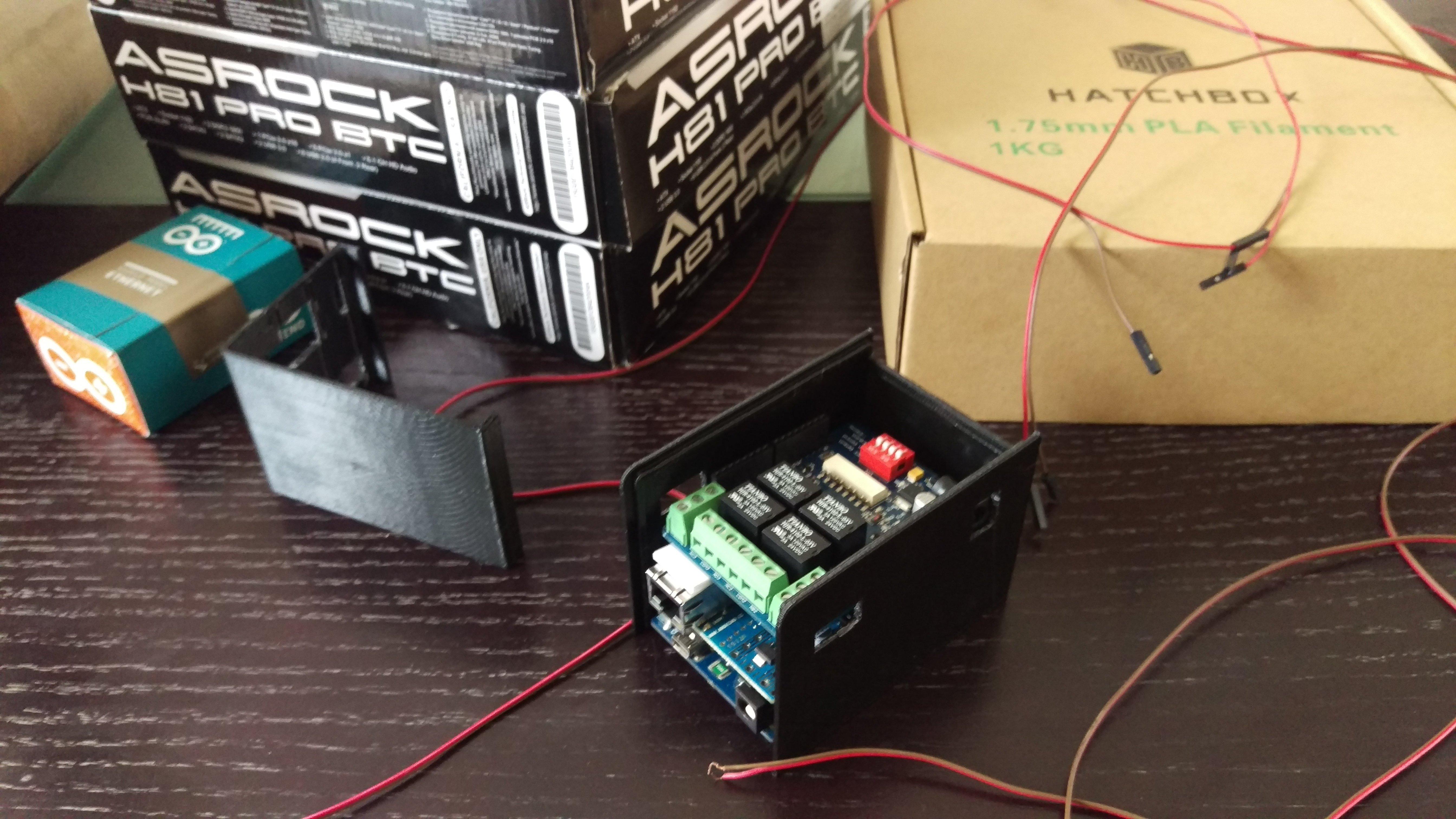 Arduino to remotely reset a crashed miner — Ethereum Community Forum
