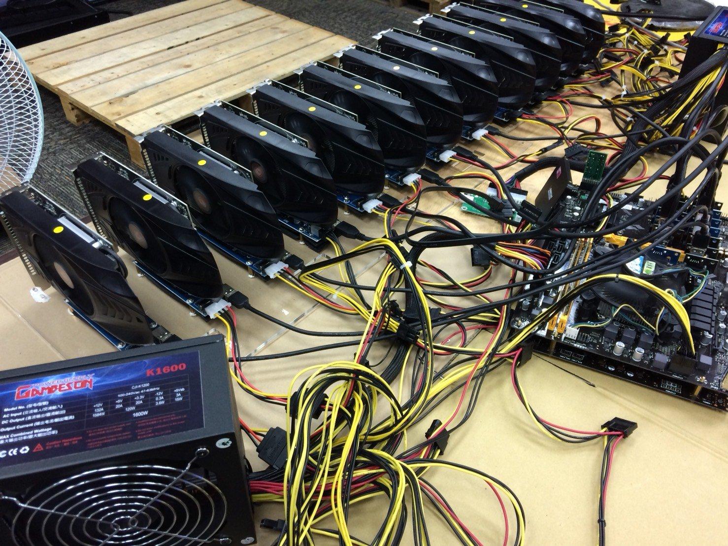 12 x AMD RX560 4gb on 1 power! — Ethereum Community Forum