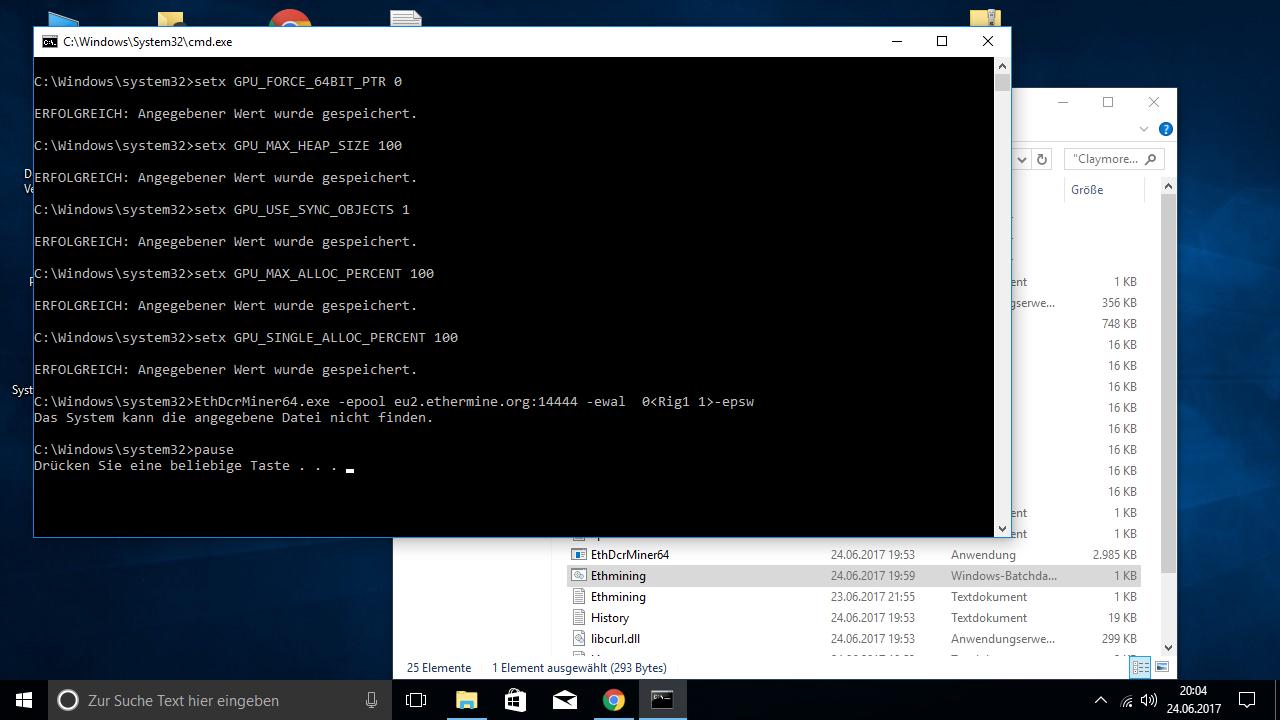 Claymore instantly crashes??! — Ethereum Community Forum