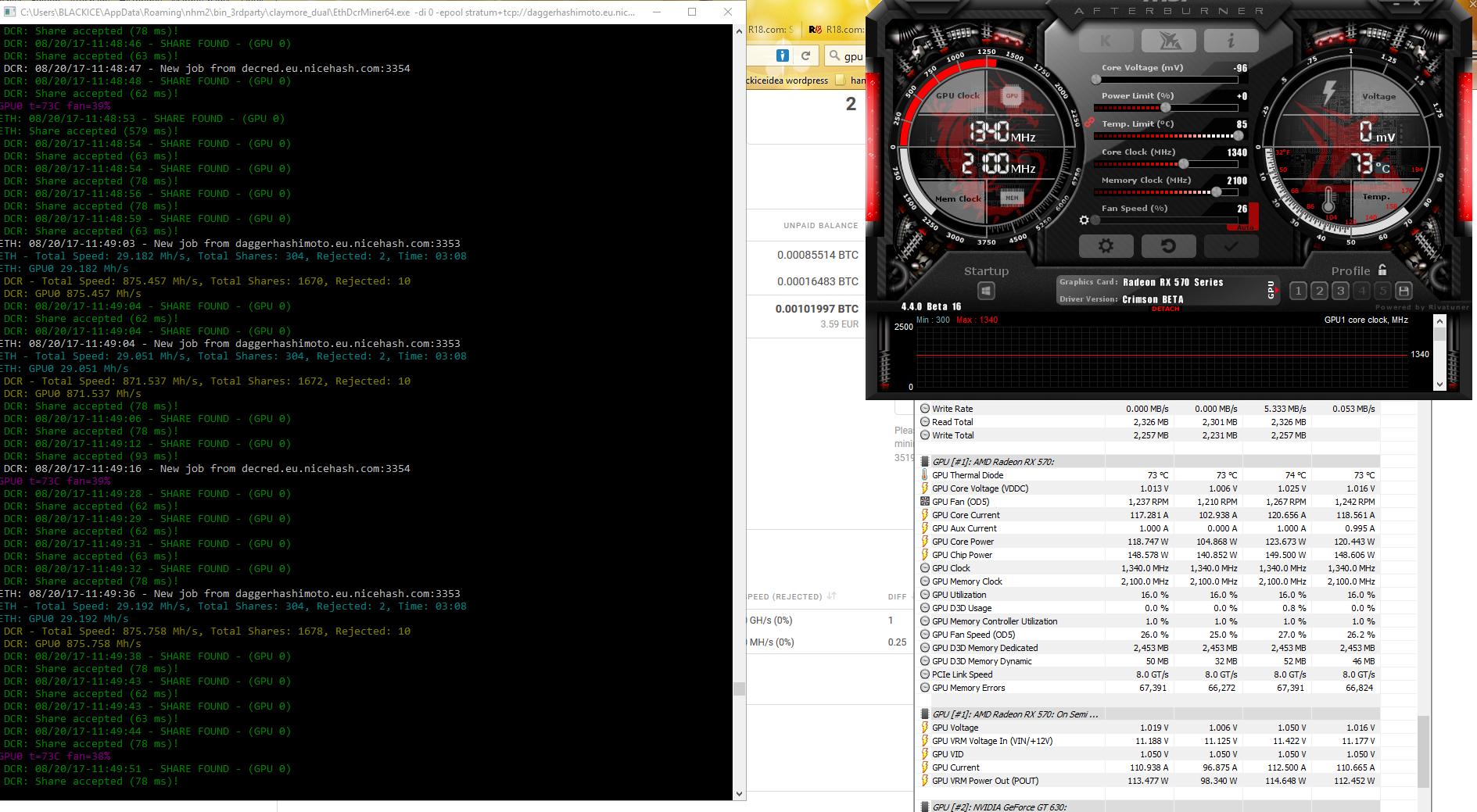 Hashrate RX 570 4GB — Ethereum Community Forum