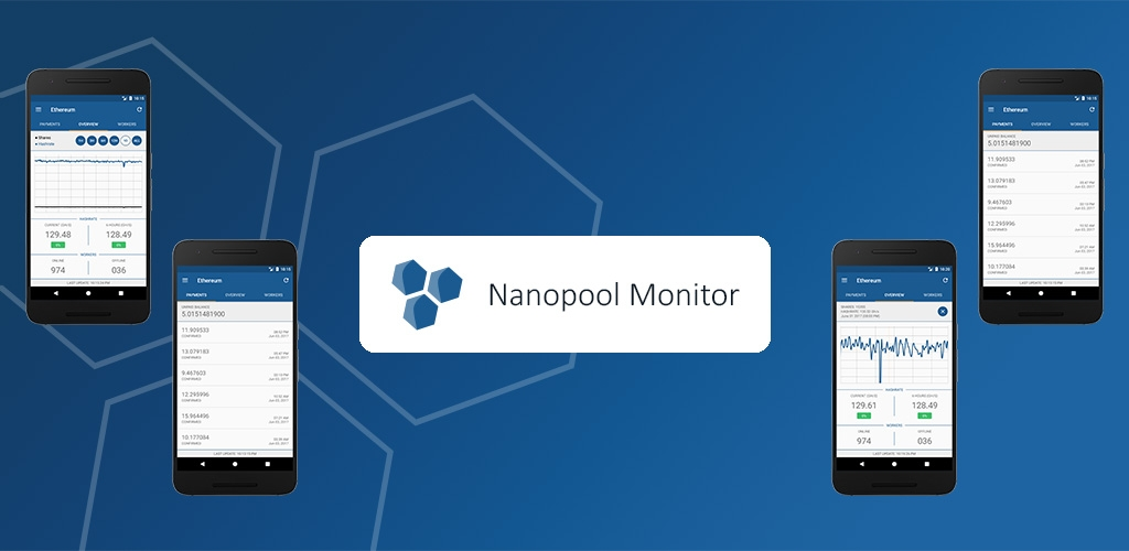 Android App] Mining Pool Monitor for nanopool org — Ethereum