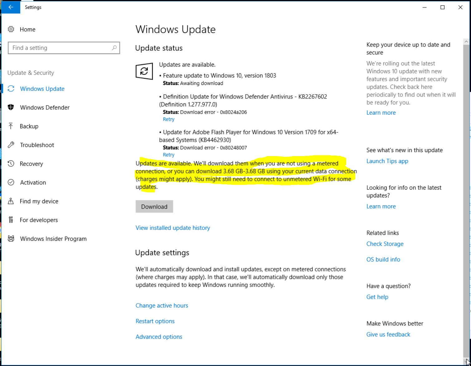 how to stop windows automatic updates windows 10