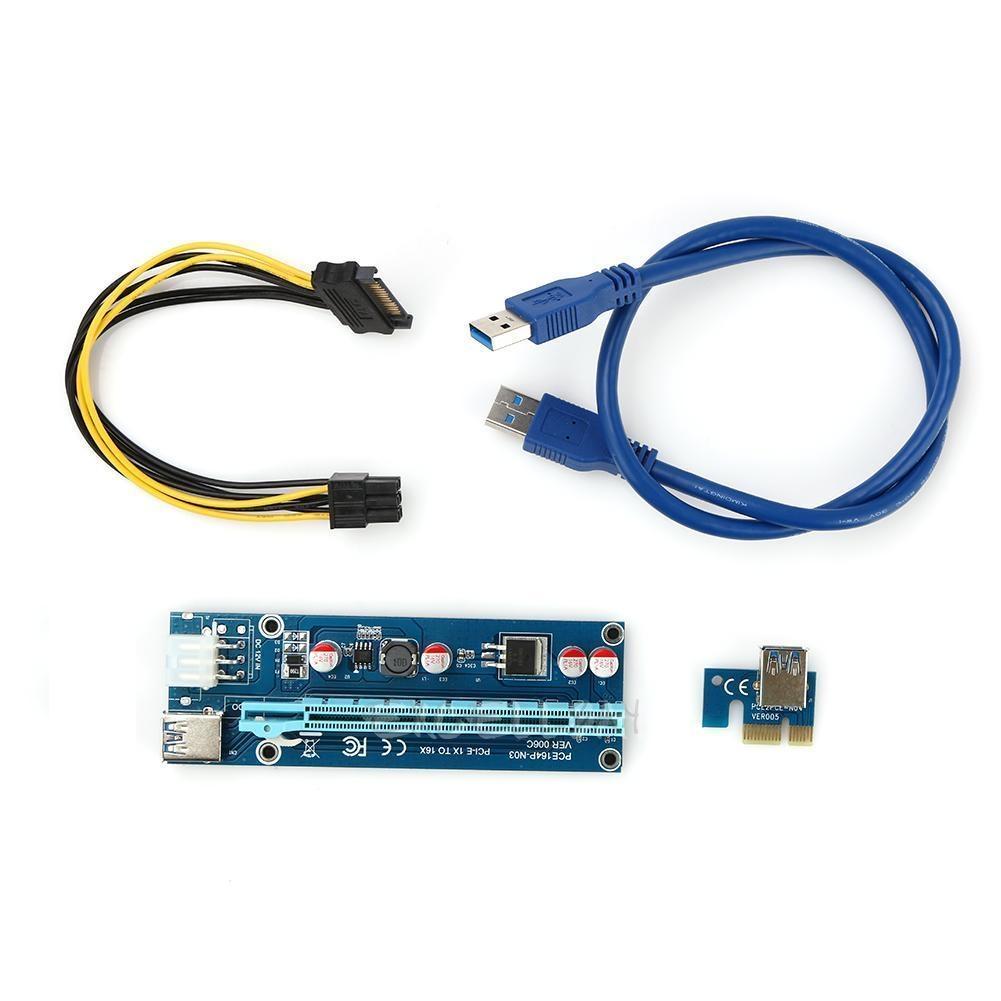 The Correct Way Of Powering Risers For 470 480 Page 6 Usb 5v 5 V To 12v 12 Volt Dc Step Up Boost Converter Adaptor Adapter Kabel Cable Pin Have Even More Stuff On Board Is That Because Different Power Connector Or Are They Just Better
